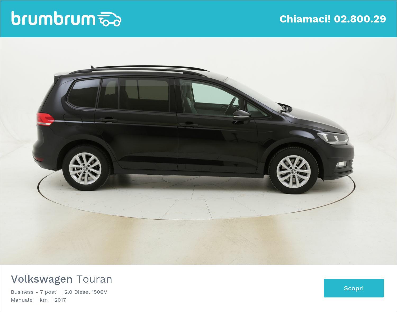 Volkswagen Touran Business - 7 posti usata del 2017 con 99.446 km | brumbrum