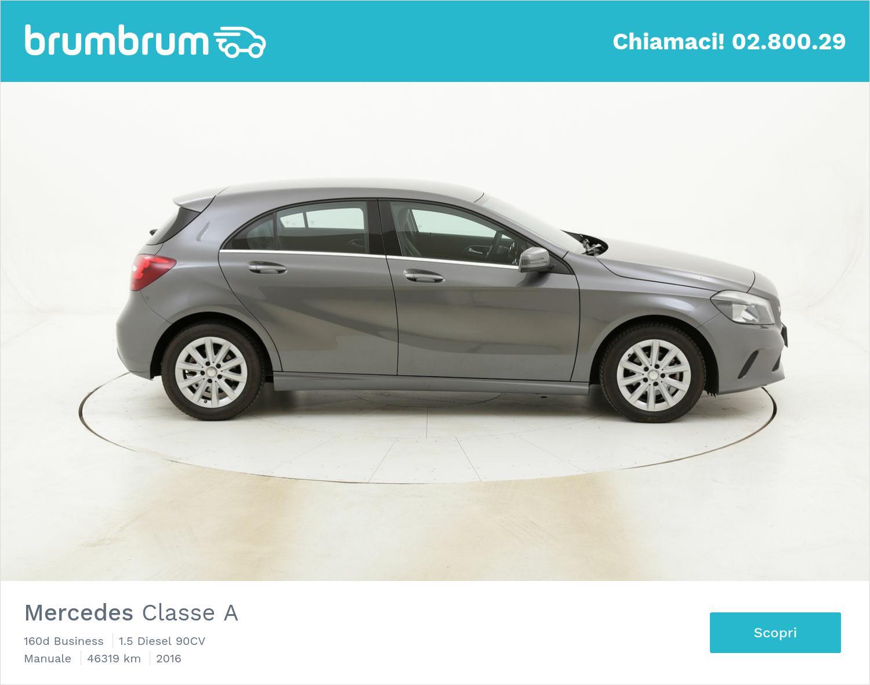 Mercedes Classe A 160d Business usata del 2016 con 46.403 km | brumbrum