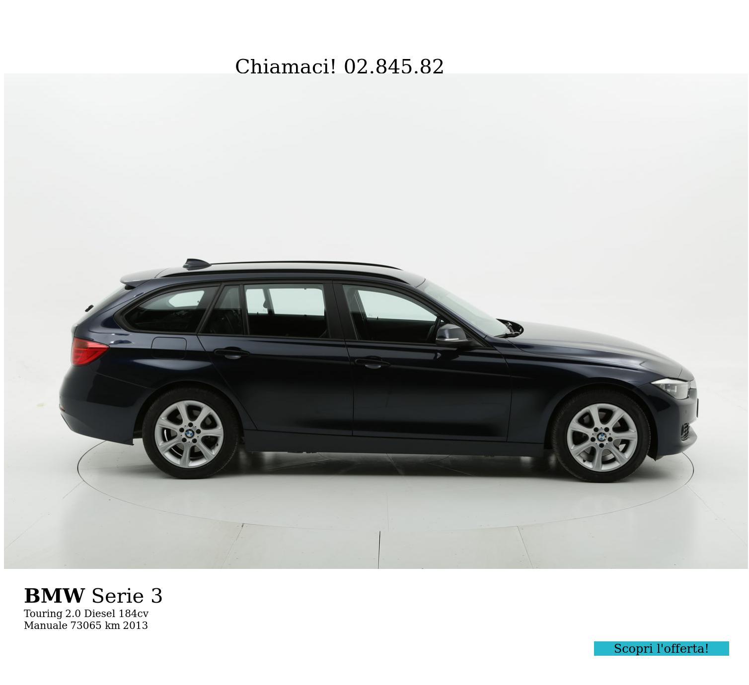 BMW Serie 3 usata del 2013 con 73.094 km | brumbrum