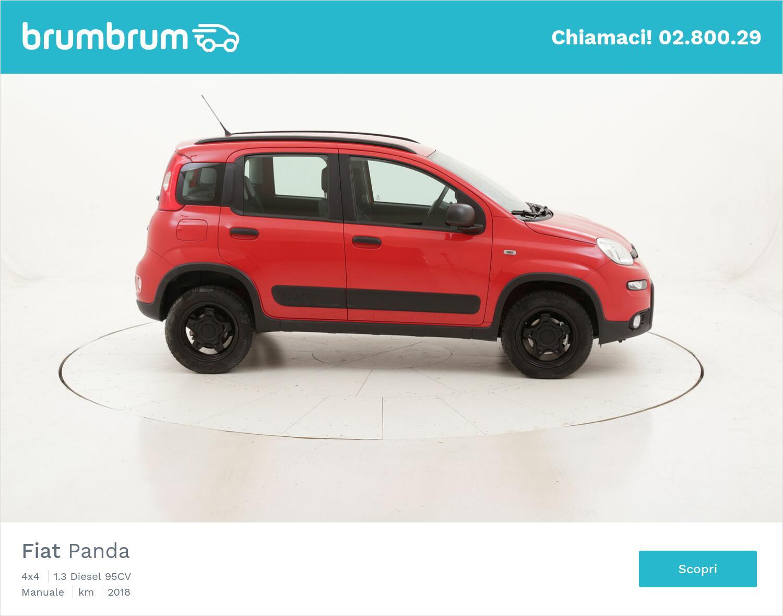 Fiat Panda 4x4 usata del 2018 con 16.559 km   brumbrum