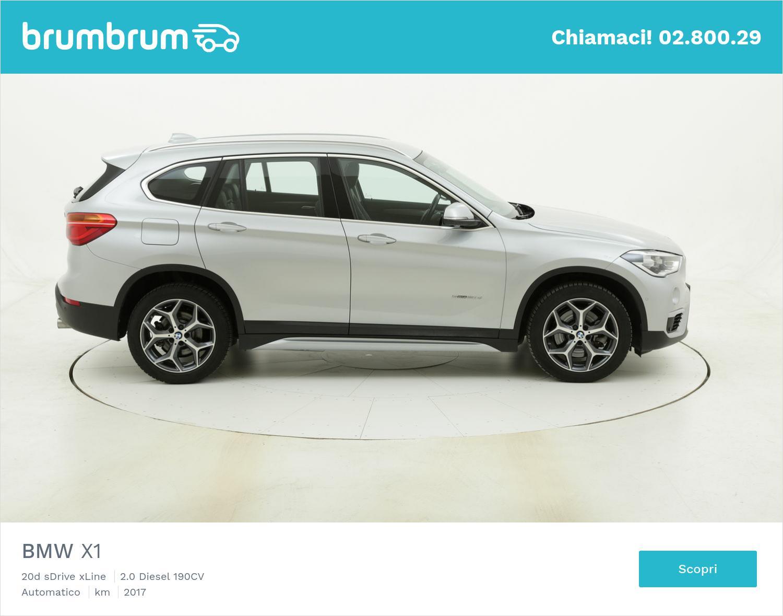 BMW X1 20d sDrive xLine usata del 2017 con 44.146 km | brumbrum