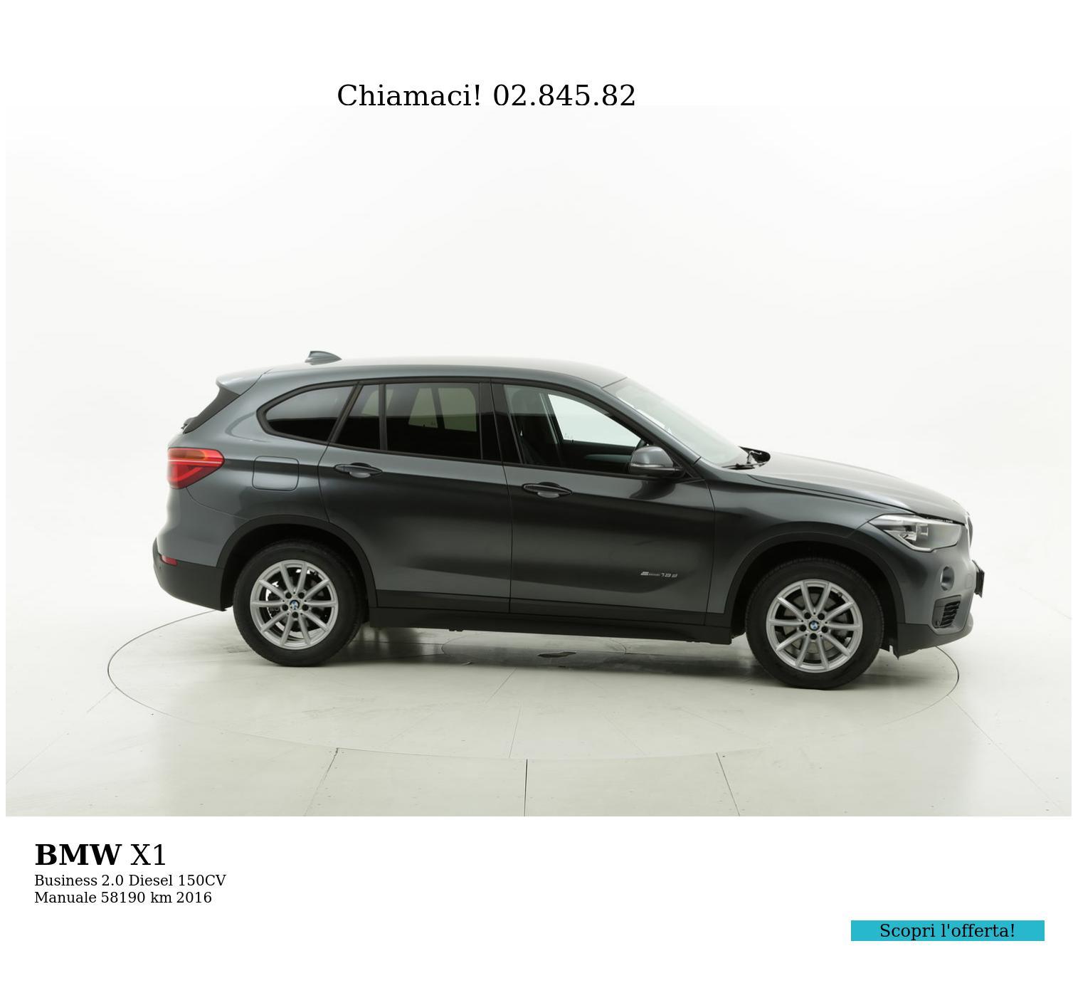 BMW X1 usata del 2016 con 58.304 km | brumbrum