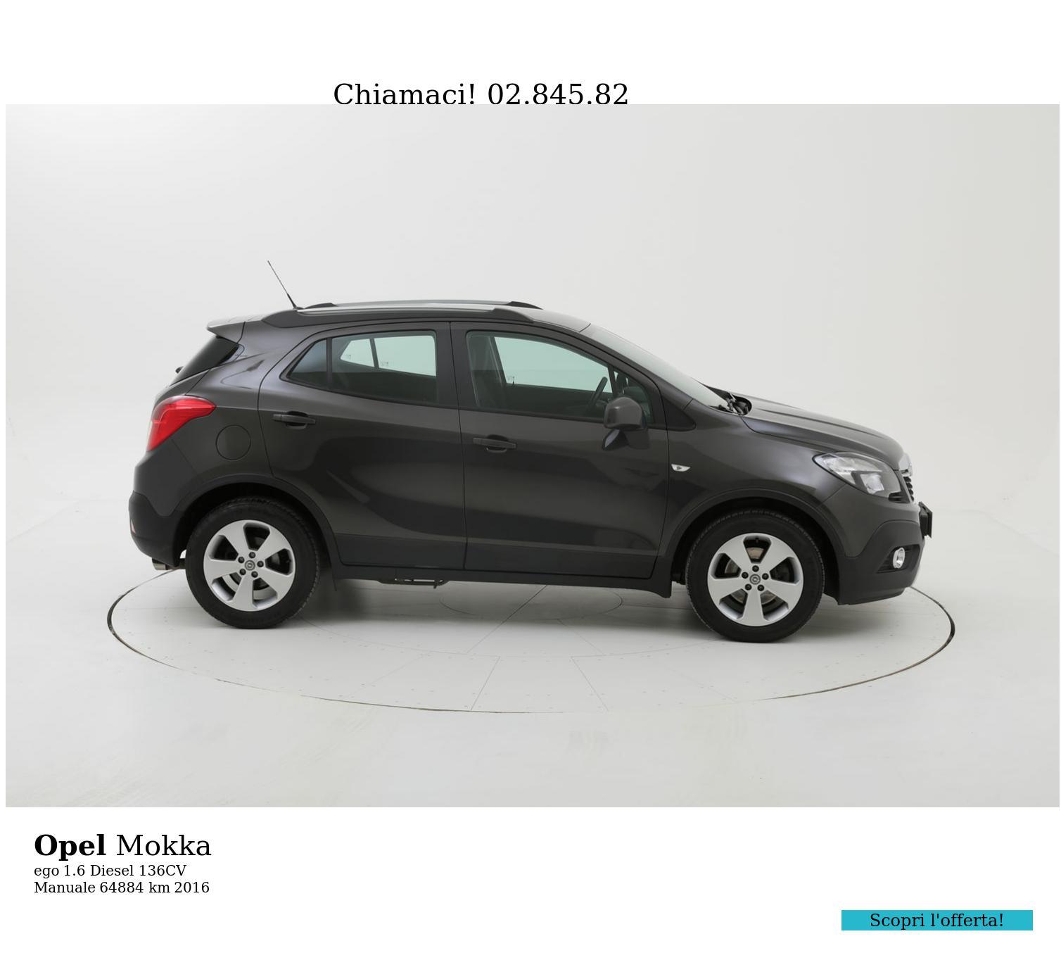 Opel Mokka usata del 2016 con 64.935 km | brumbrum