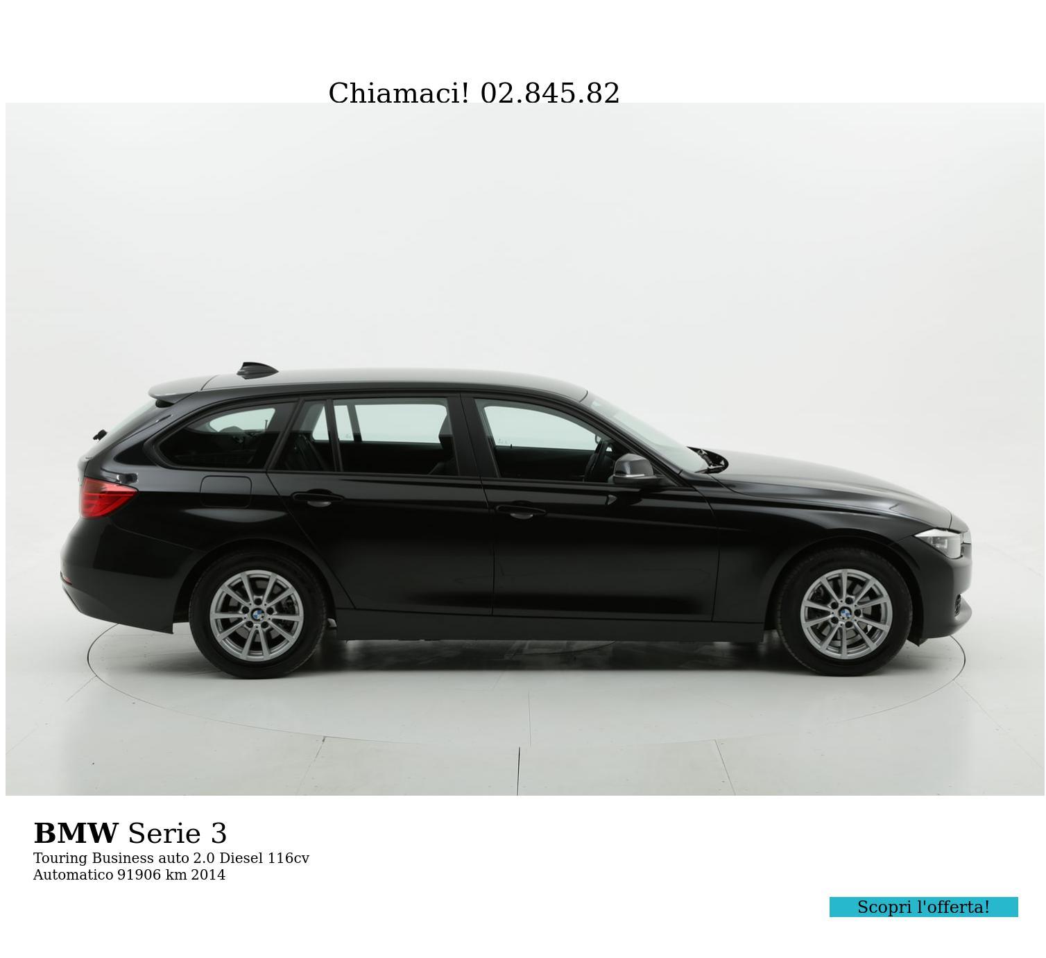 BMW Serie 3 usata del 2014 con 92.186 km | brumbrum