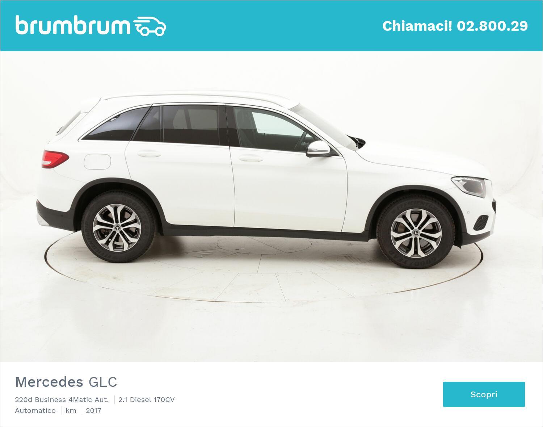 Mercedes GLC 220d Business 4Matic Aut. usata del 2017 con 112.957 km   brumbrum