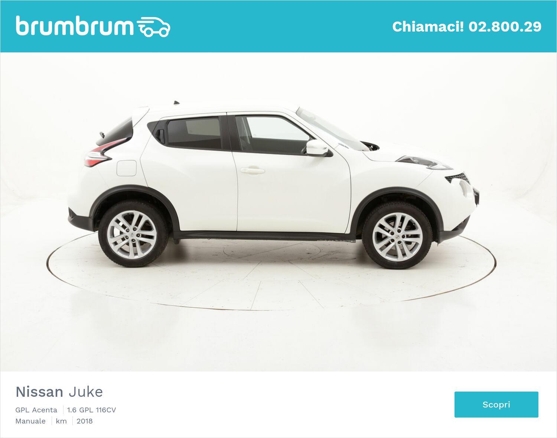 Nissan Juke GPL Acenta usata del 2018 con 60.909 km | brumbrum