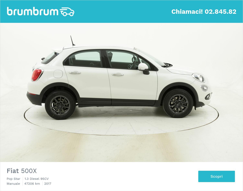 Fiat 500X usata del 2017 con 47.760 km | brumbrum