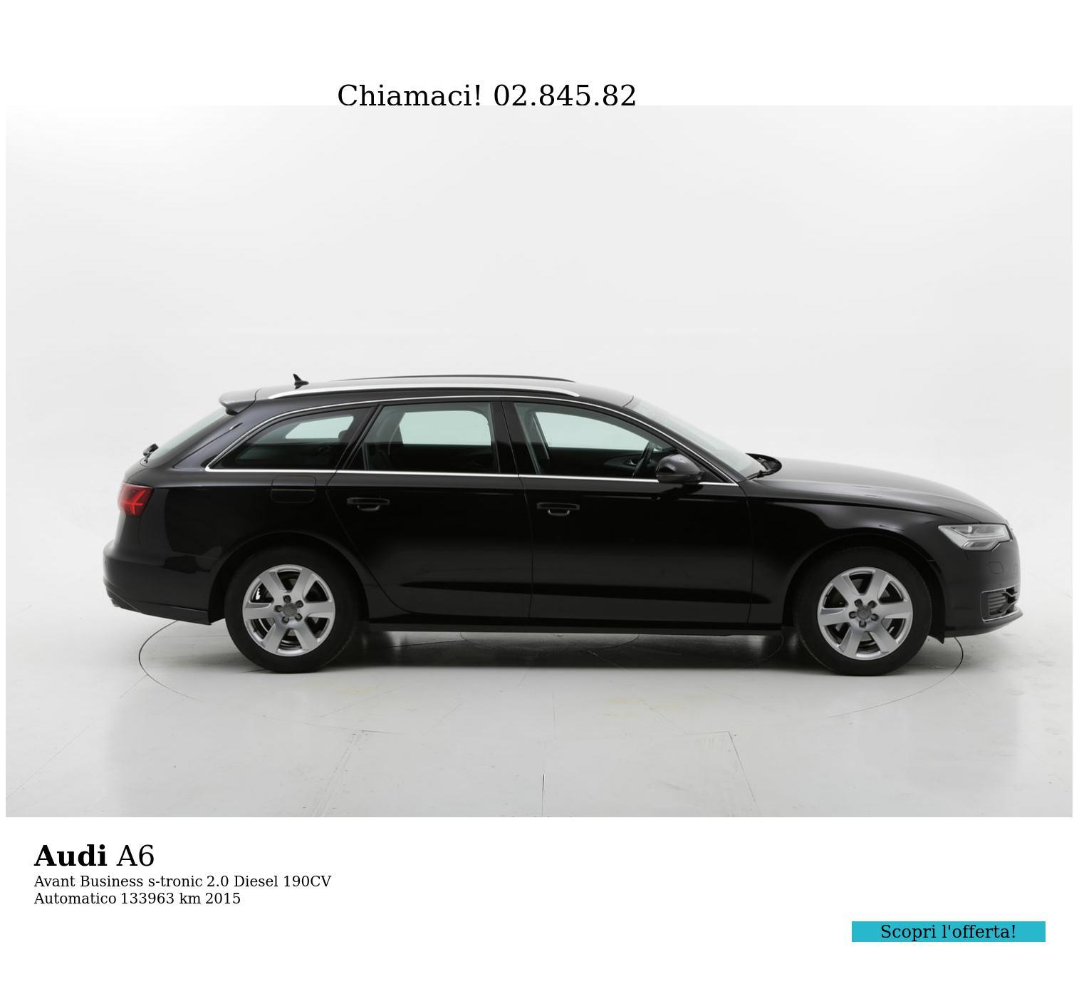 Audi A6 usata del 2015 con 134.009 km | brumbrum
