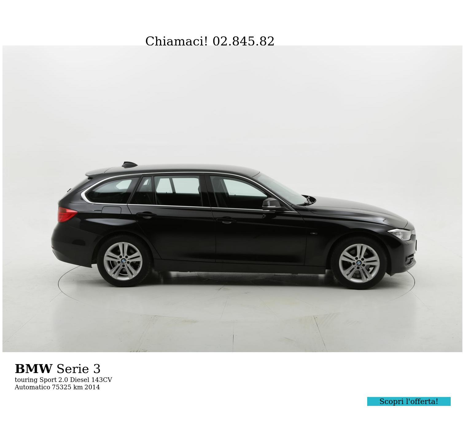 BMW Serie 3 usata del 2014 con 75.452 km | brumbrum