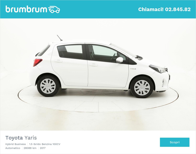 Toyota Yaris usata del 2017 con 28.122 km   brumbrum