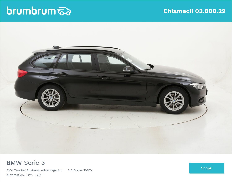BMW Serie 3 316d Touring Business Advantage Aut. usata del 2018 con 123.737 km | brumbrum