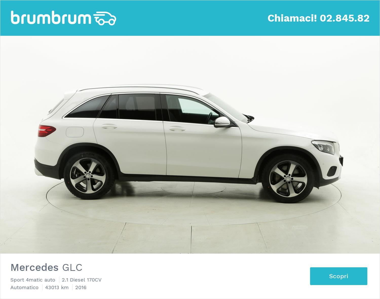 Mercedes GLC usata del 2016 con 43.316 km | brumbrum