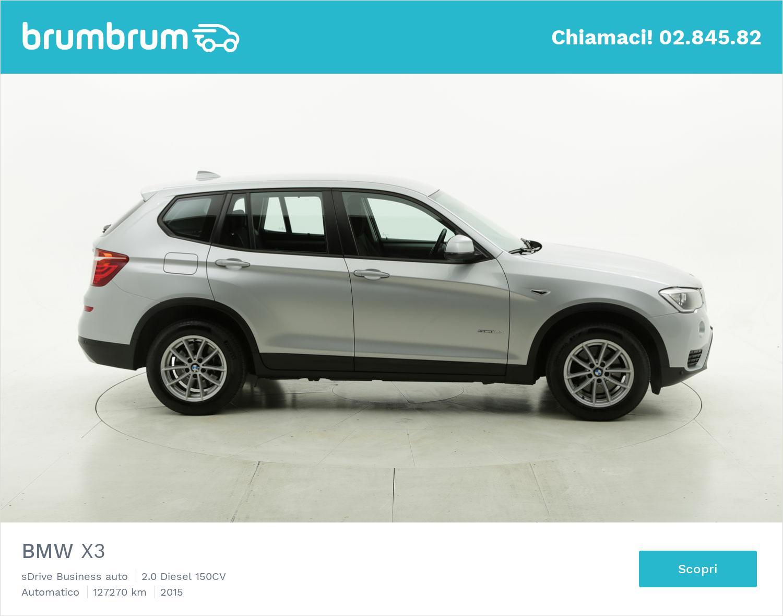 BMW X3 usata del 2015 con 127.382 km | brumbrum