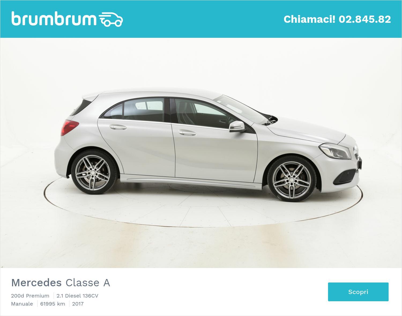 Mercedes Classe A usata del 2017 con 62.535 km   brumbrum