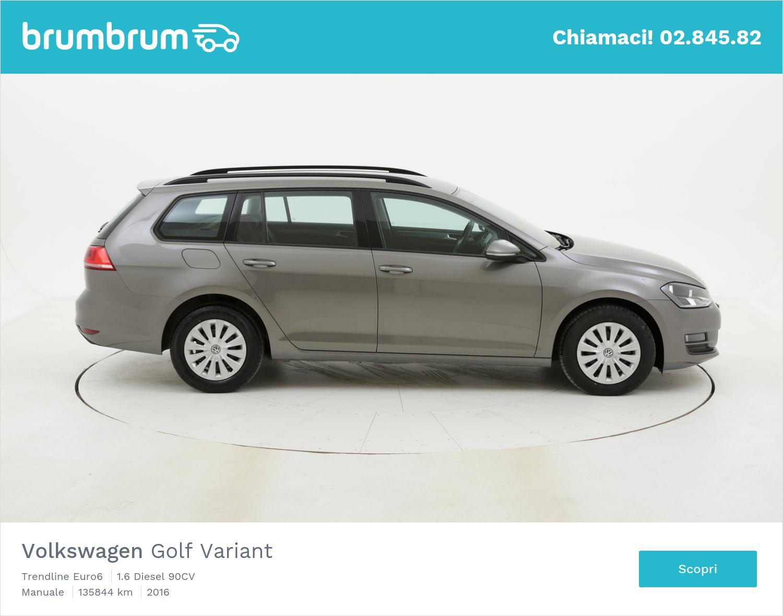 Volkswagen Golf Variant usata del 2016 con 136.092 km   brumbrum