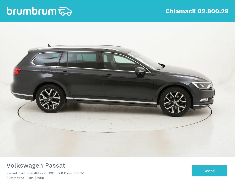 Volkswagen Passat Variant Executive 4Motion DSG usata del 2019 con 47.173 km   brumbrum
