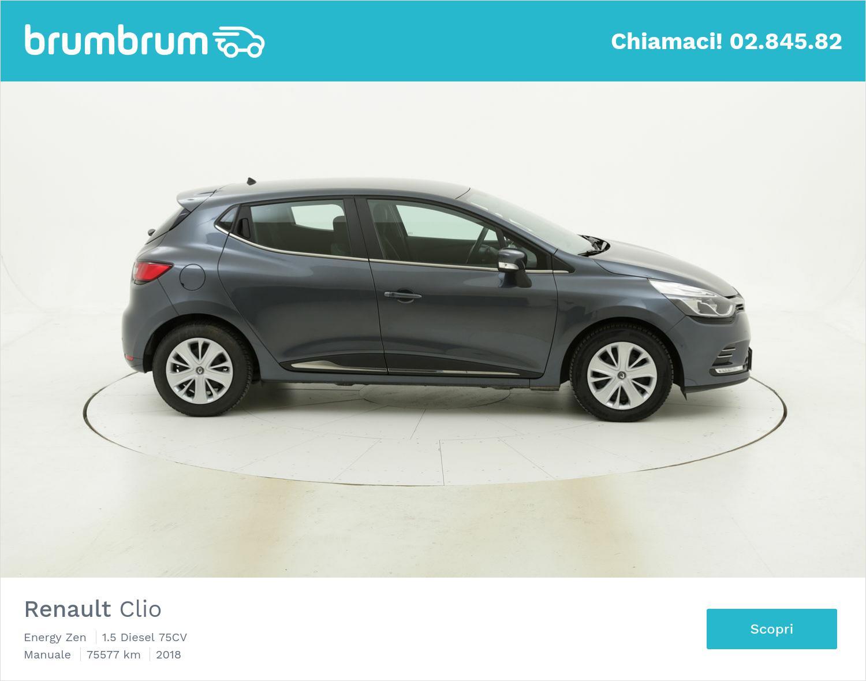 Renault Clio usata del 2018 con 75.682 km | brumbrum