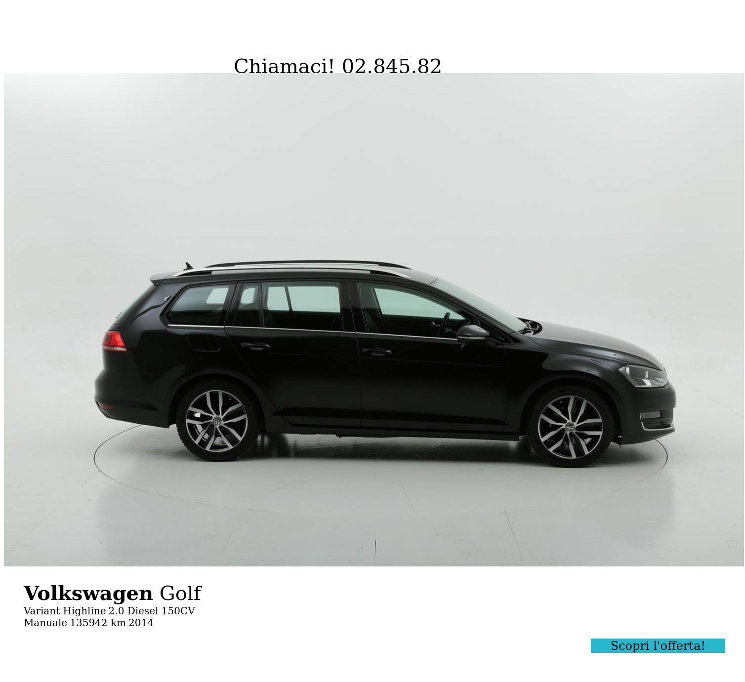 Volkswagen Golf usata del 2014 con 136.492 km | brumbrum
