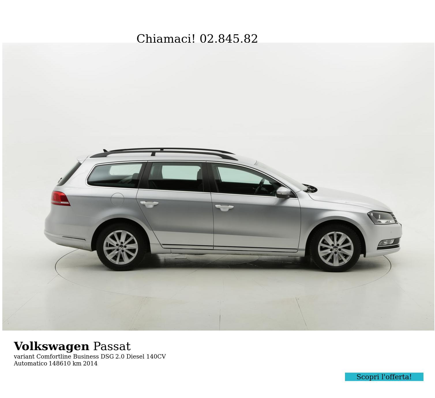 Volkswagen Passat usata del 2014 con 148.919 km | brumbrum