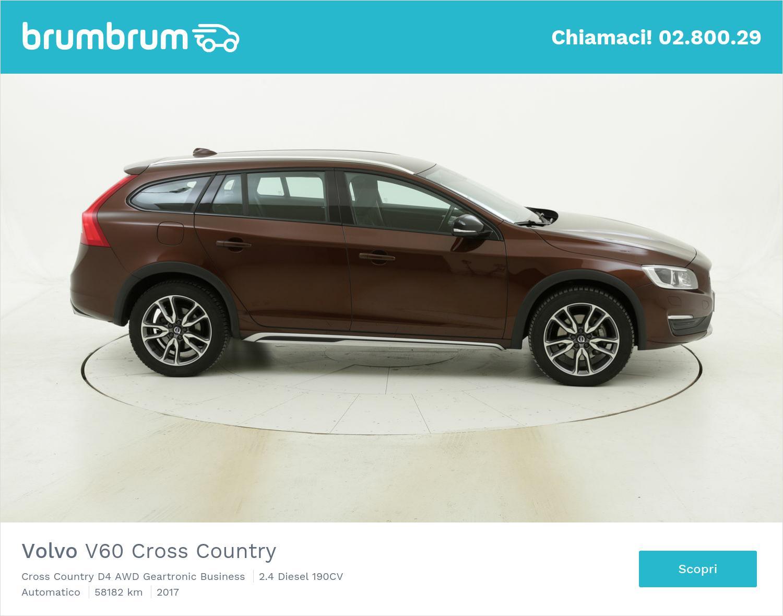Volvo V60 Cross Country usata del 2017 con 58.784 km | brumbrum