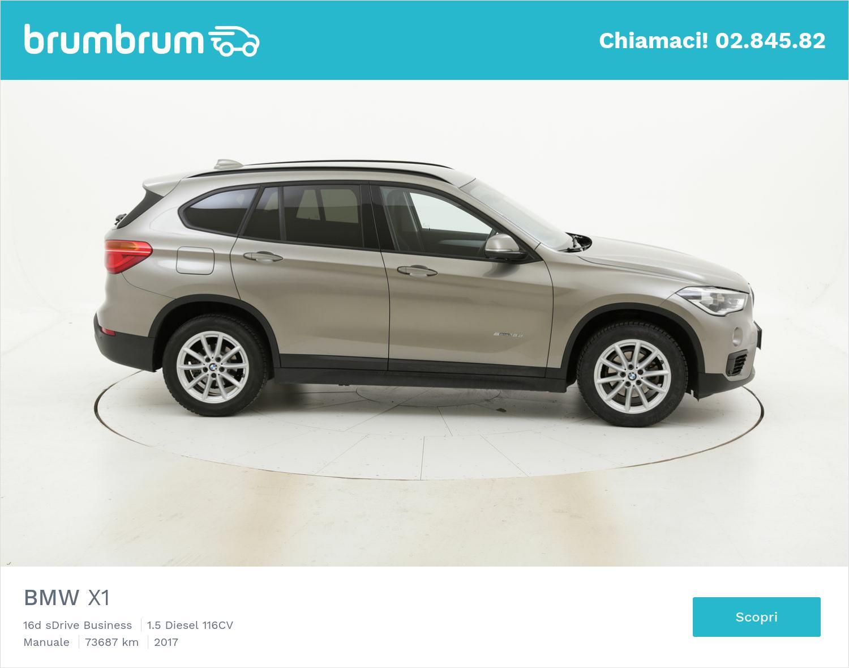 BMW X1 usata del 2017 con 74.252 km | brumbrum