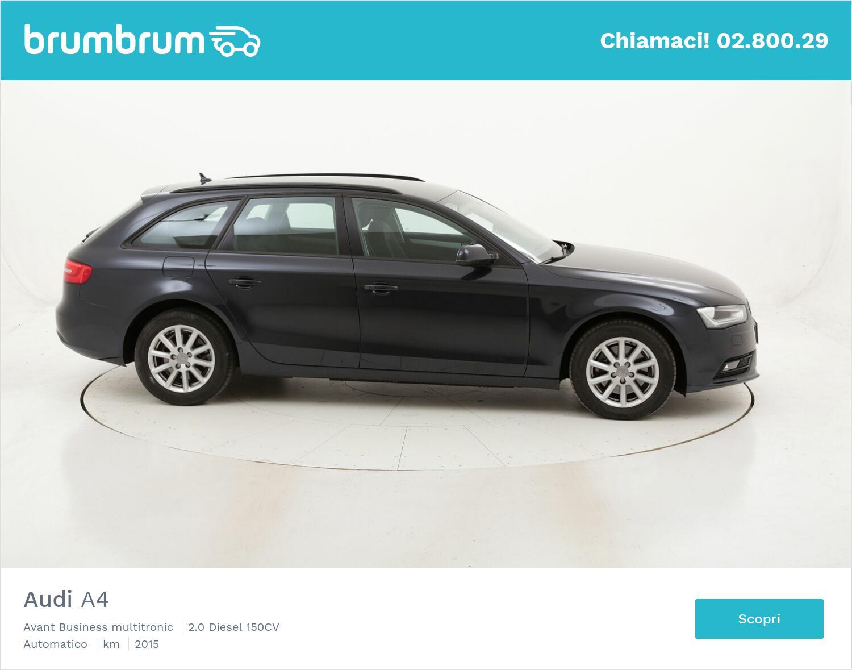 Audi A4 Avant Business multitronic usata del 2015 con 70.473 km   brumbrum