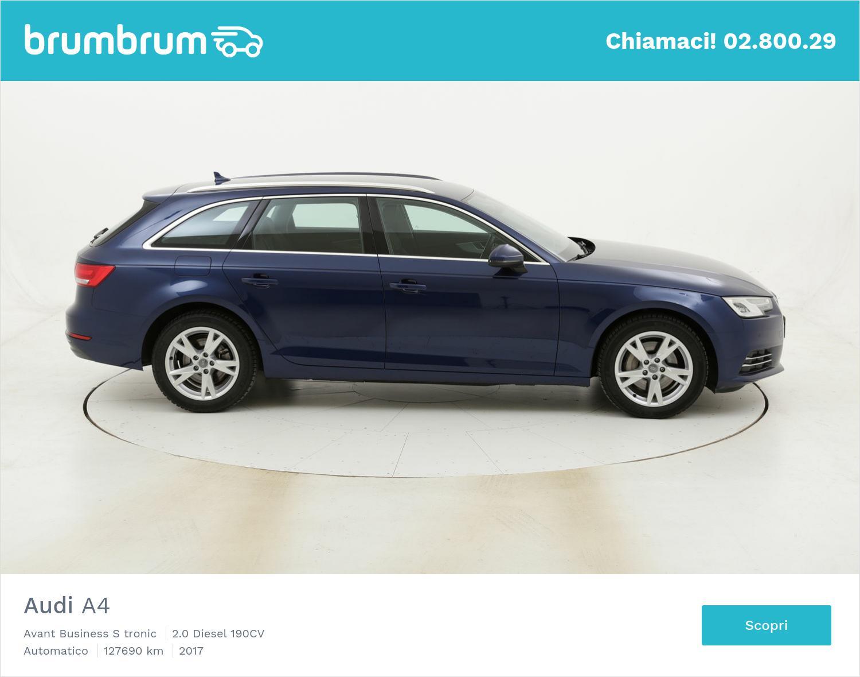 Audi A4 Avant Business S tronic usata del 2017 con 127.836 km | brumbrum