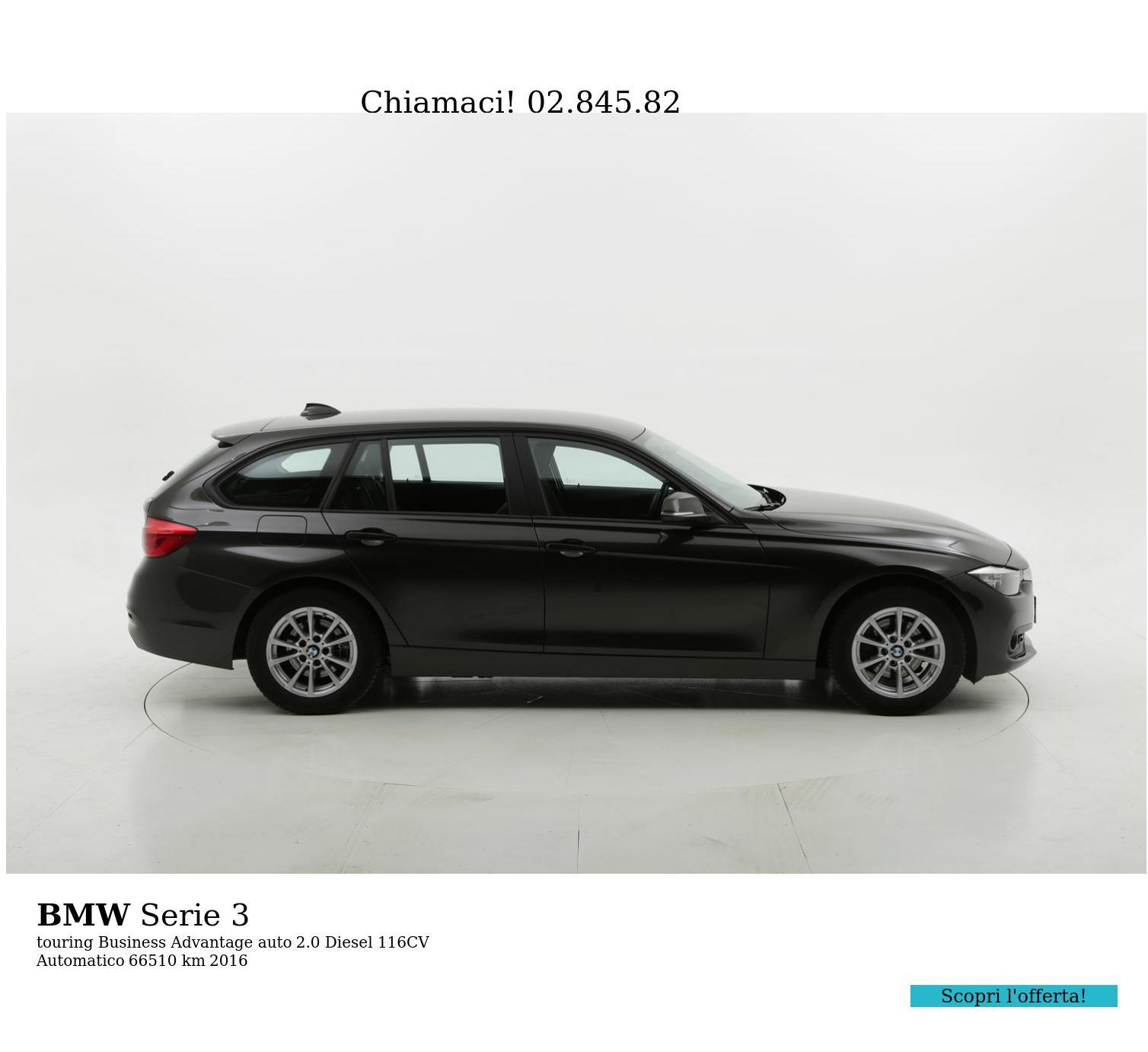 BMW Serie 3 usata del 2016 con 66.642 km | brumbrum