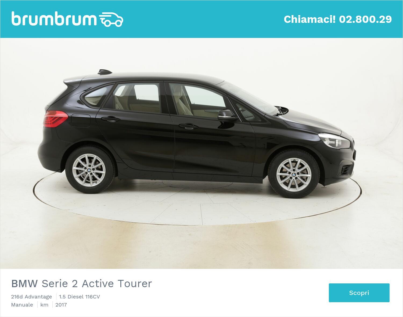 BMW Serie 2 Active Tourer 216d Advantage usata del 2017 con 55.982 km | brumbrum
