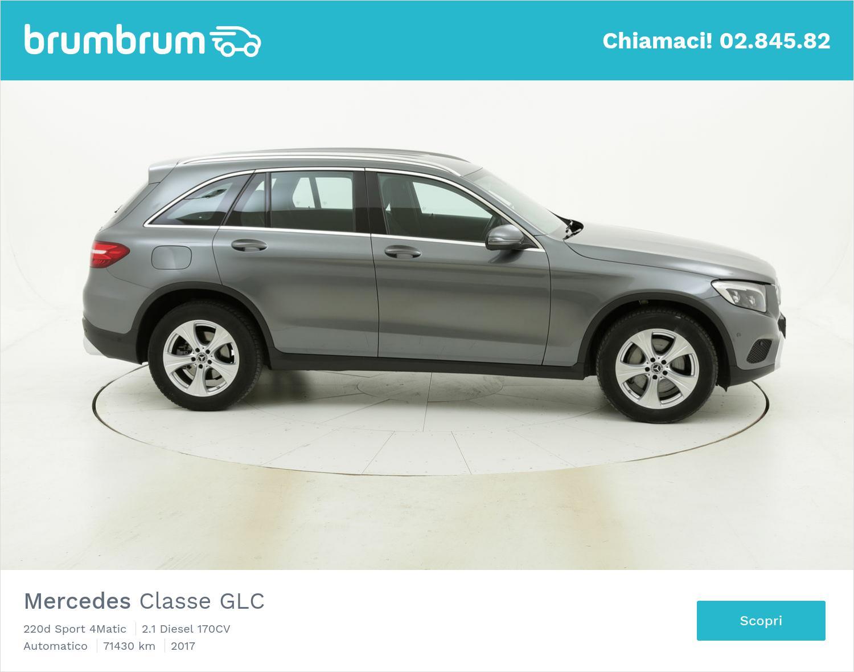 Mercedes Classe GLC usata del 2017 con 71.650 km   brumbrum