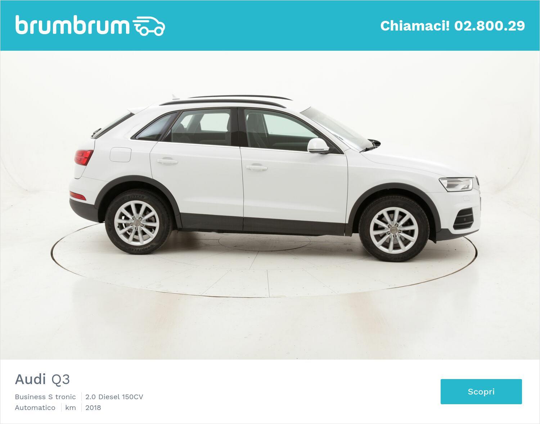 Audi Q3 Business S tronic usata del 2018 con 138.555 km | brumbrum
