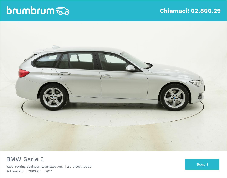 BMW Serie 3 320d Touring Business Advantage Aut. usata del 2017 con 79.717 km | brumbrum