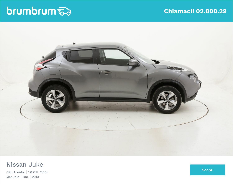 Nissan Juke GPL Acenta usata del 2019 con 19.770 km | brumbrum