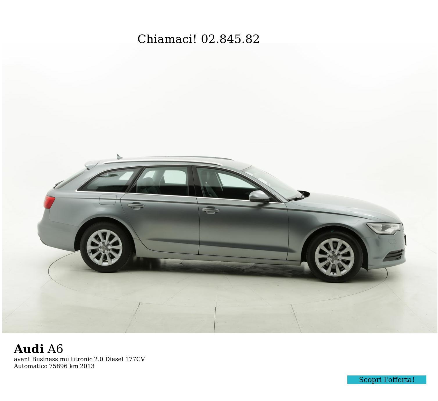 Audi A6 usata del 2013 con 76.229 km | brumbrum