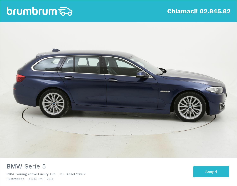 BMW Serie 5 usata del 2016 con 61.936 km | brumbrum