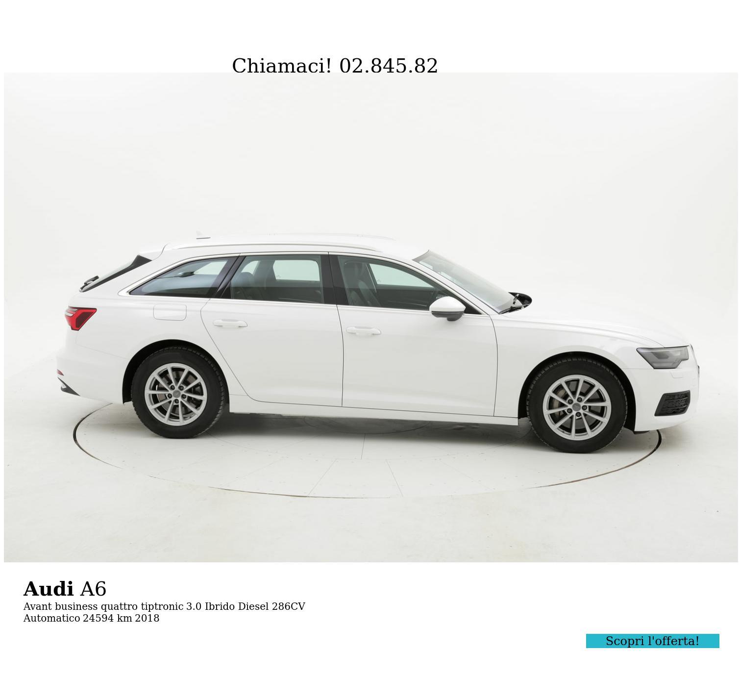 Audi A6 usata del 2018 con 25.302 km | brumbrum