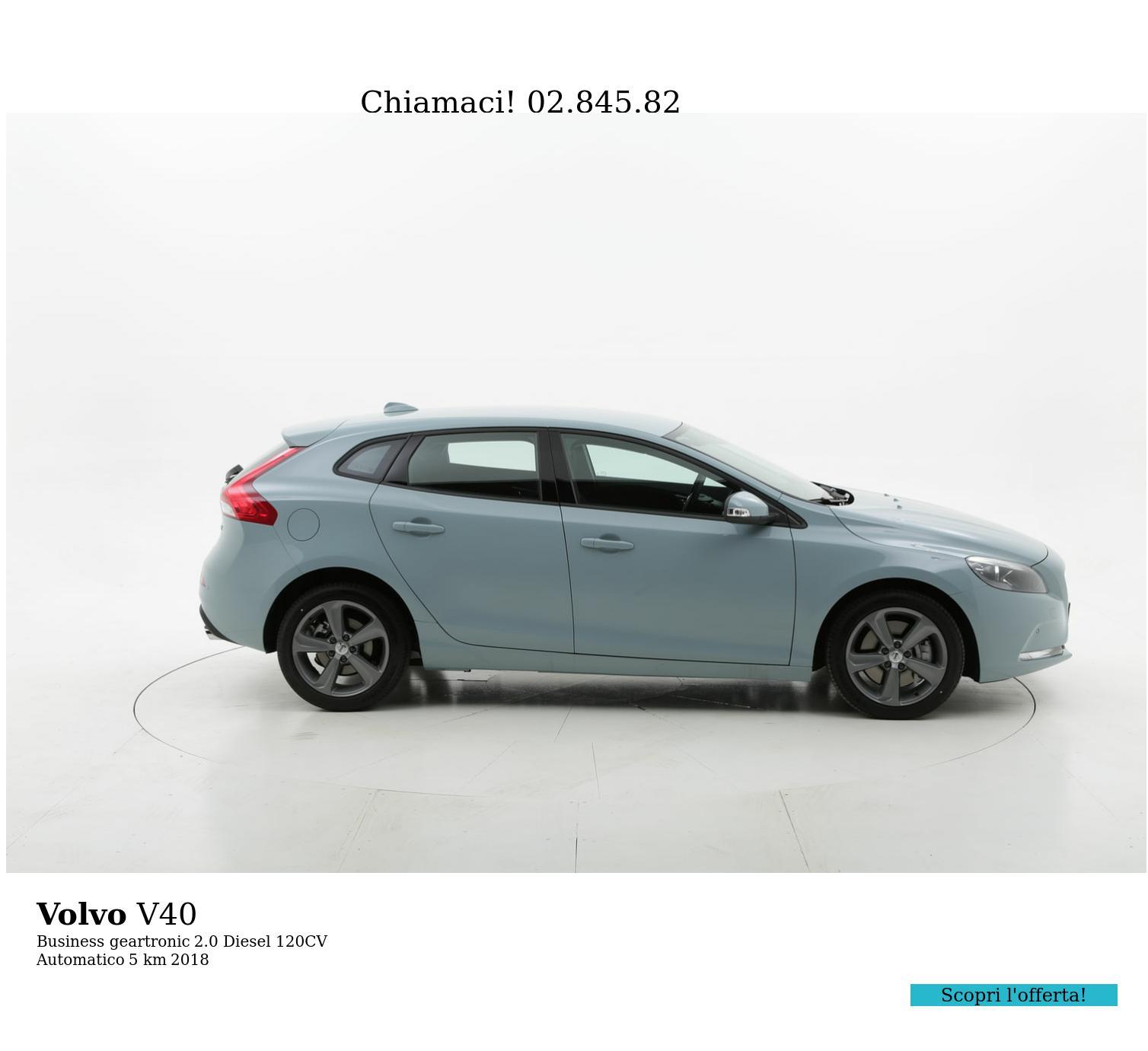 Volvo V40 usata del 2018 con 111 km | brumbrum