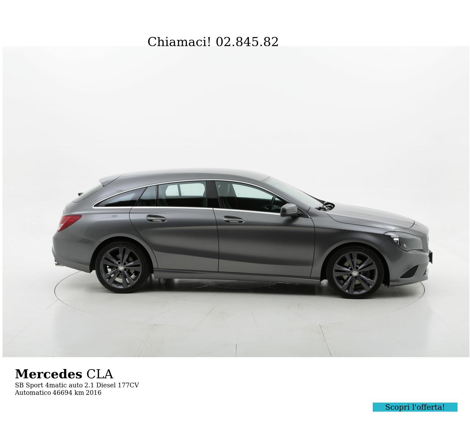 Mercedes CLA usata del 2016 con 47.240 km   brumbrum