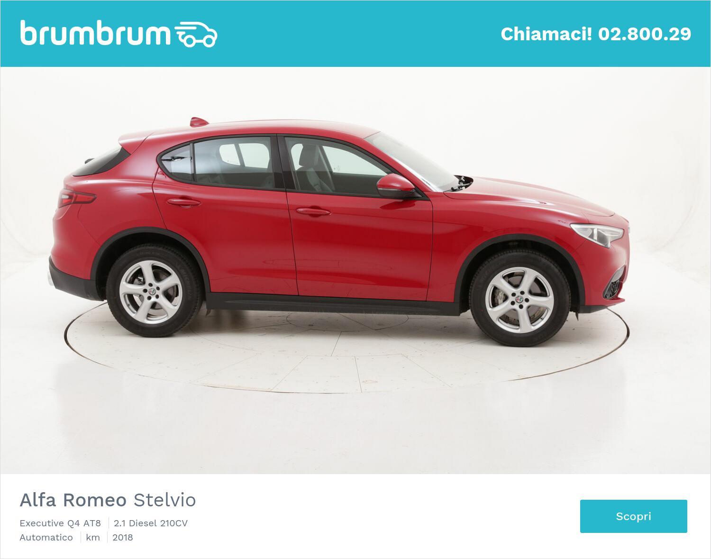 Alfa Romeo Stelvio Executive Q4 AT8 usata del 2018 con 18.981 km | brumbrum