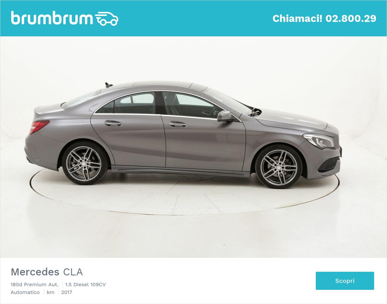 Mercedes CLA 180d Premium Aut. usata del 2017 con 104.013 km   brumbrum