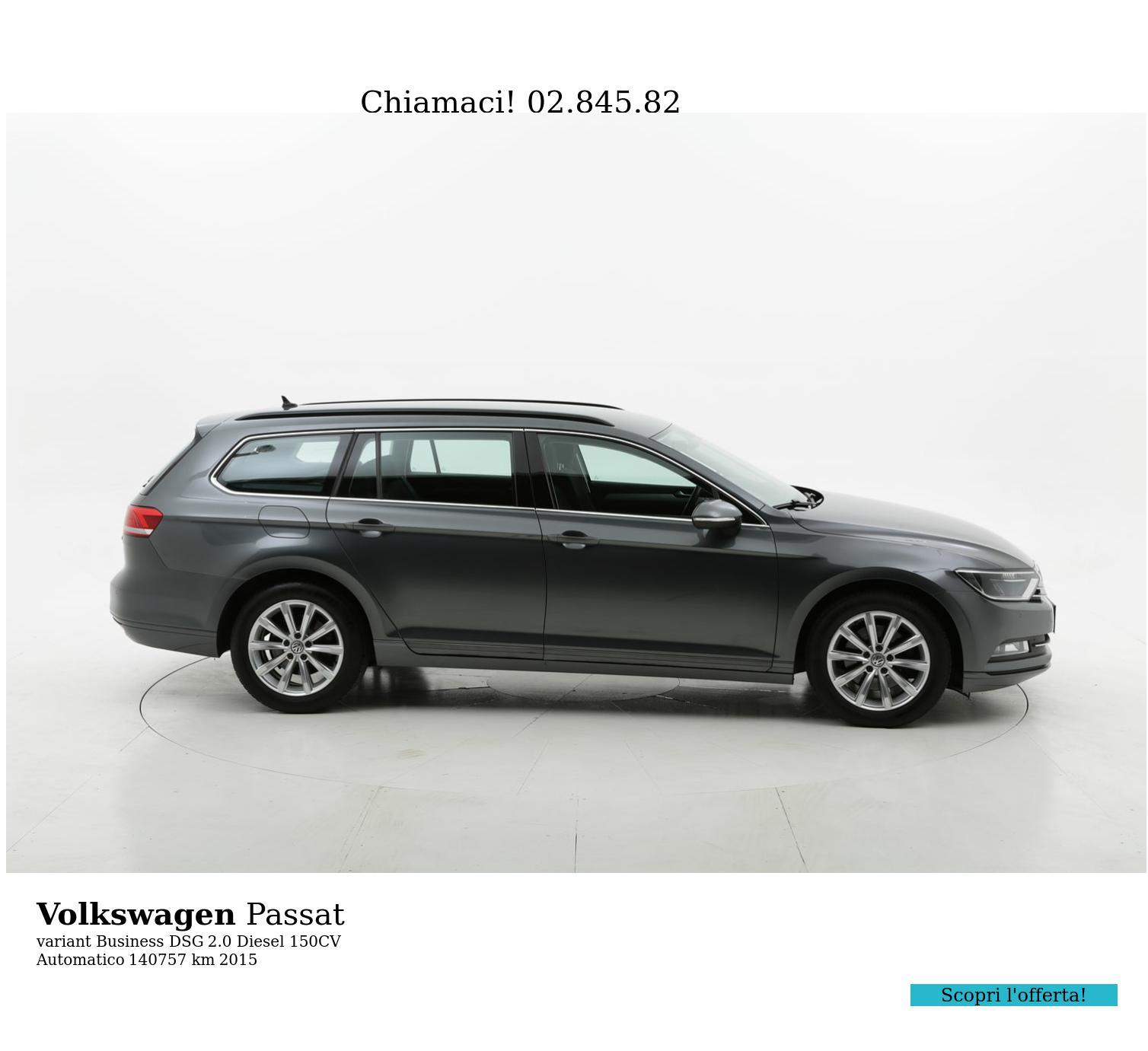 Volkswagen Passat usata del 2015 con 141.166 km | brumbrum