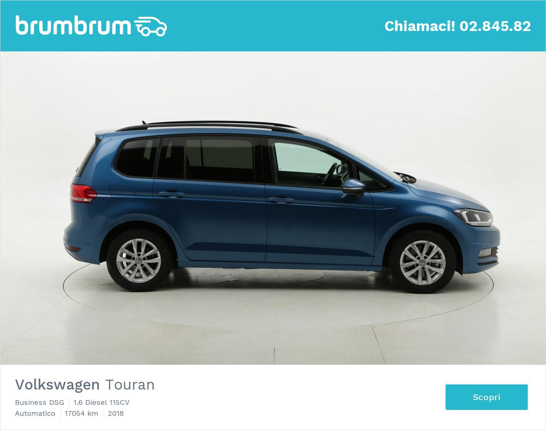 Volkswagen Touran usata del 2018 con 17.128 km | brumbrum