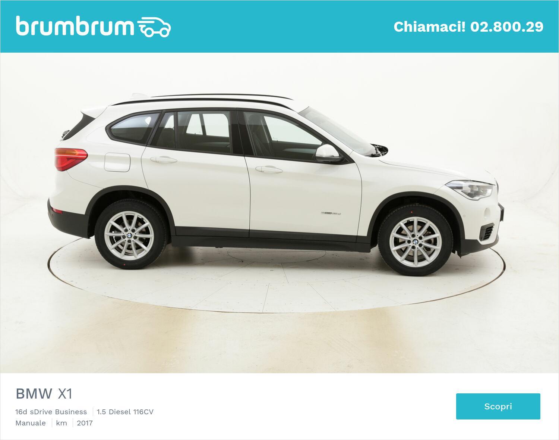 BMW X1 16d sDrive Business usata del 2017 con 38.850 km   brumbrum