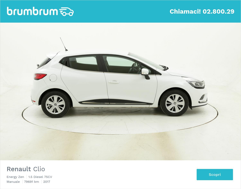 Renault Clio Energy Zen usata del 2017 con 79.898 km | brumbrum