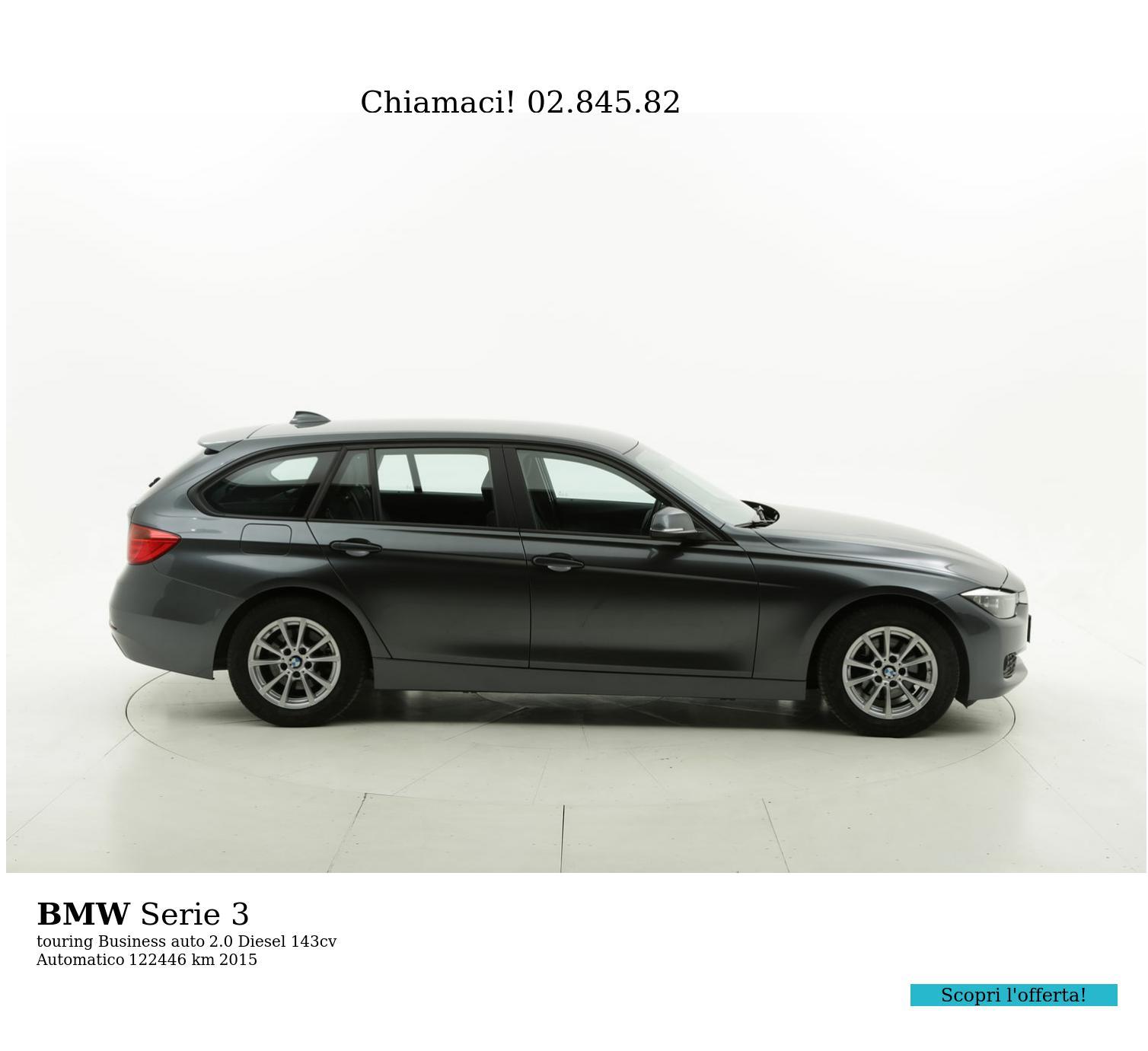 BMW Serie 3 usata del 2015 con 122.539 km | brumbrum