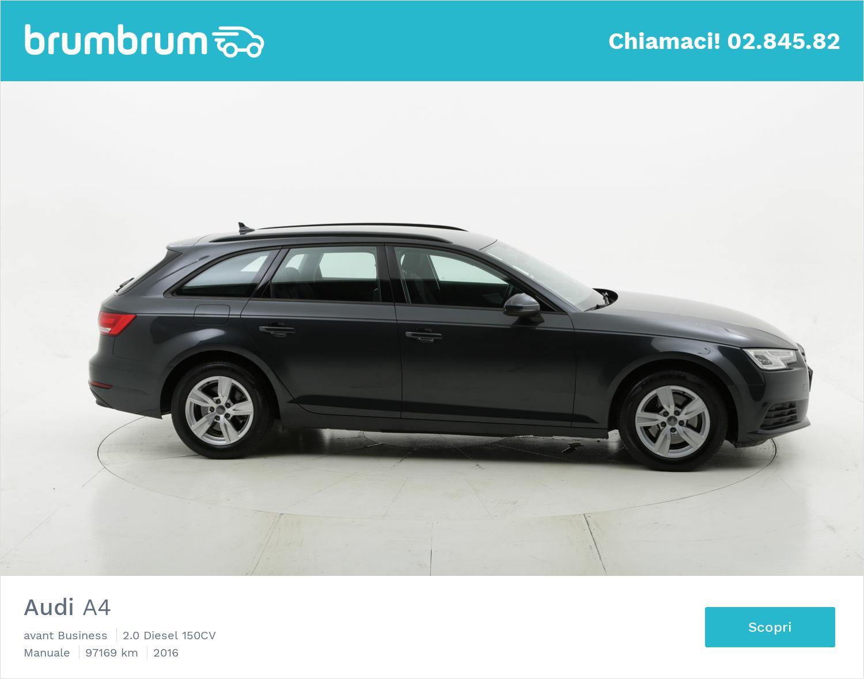 Audi A4 usata del 2016 con 97.669 km | brumbrum