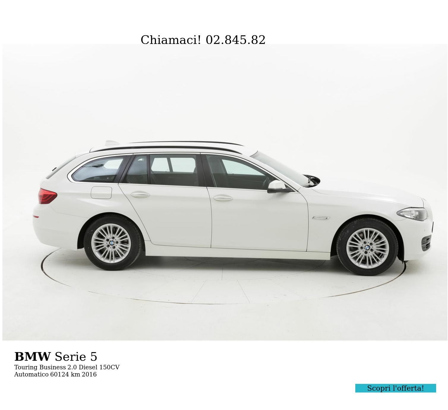 BMW Serie 5 usata del 2016 con 60.602 km | brumbrum