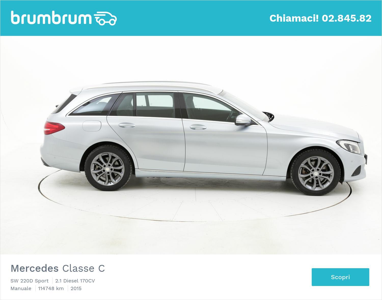 Mercedes Classe C usata del 2015 con 115.062 km | brumbrum