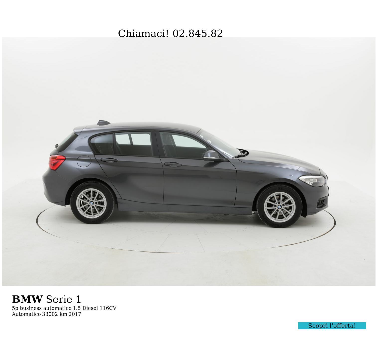 BMW Serie 1 usata del 2017 con 33.853 km | brumbrum