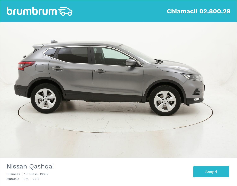 Nissan Qashqai Business usata del 2018 con 50.442 km | brumbrum